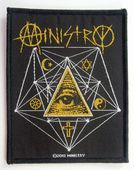 Ministry - 'All Seeing Eye' Woven Patch
